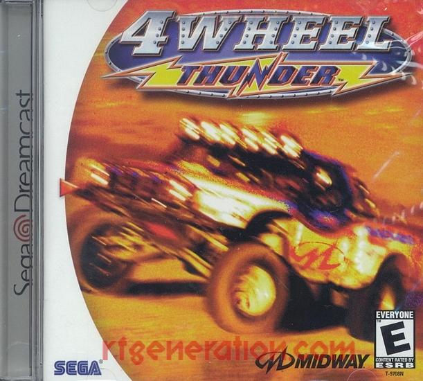 4 Wheel Thunder Box Front