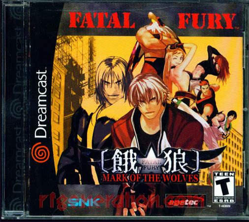 Fatal Fury: Mark of the Wolves Box Front