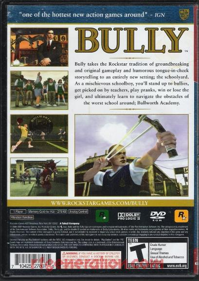 Bully <sup>[Greatest Hits]</sup> Box Back