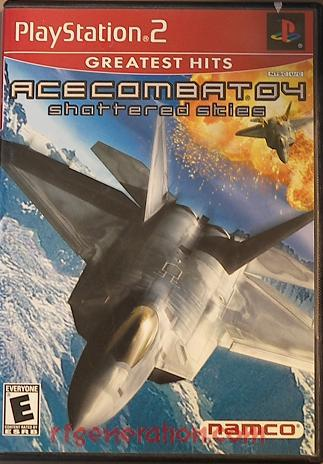 Ace Combat 04: Shattered Skies <sup>[Greatest Hits]</sup> Box Front