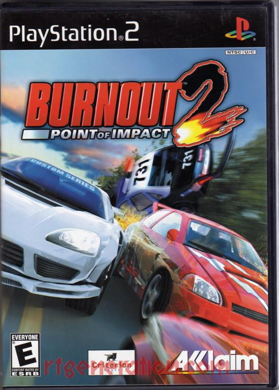 Burnout 2: Point of Impact Box Front