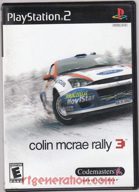 Colin McRae Rally 3 Box Front