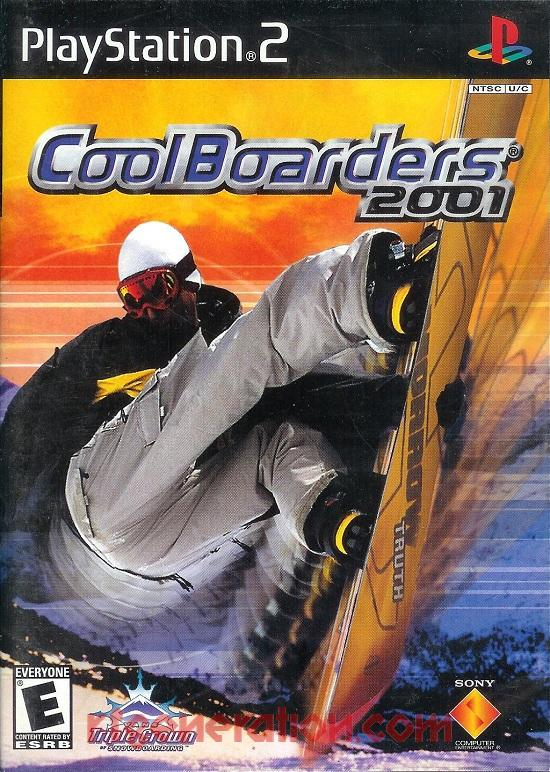 Cool Boarders 2001 Box Front