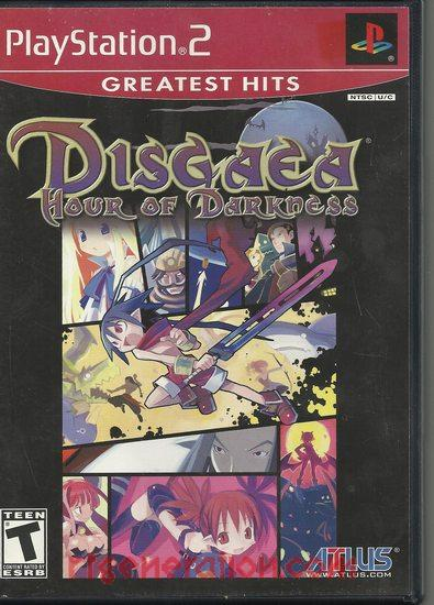 Disgaea: Hour of Darkness <sup>[Greatest Hits]</sup> Box Front
