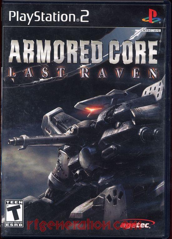 Armored Core: Last Raven Box Front