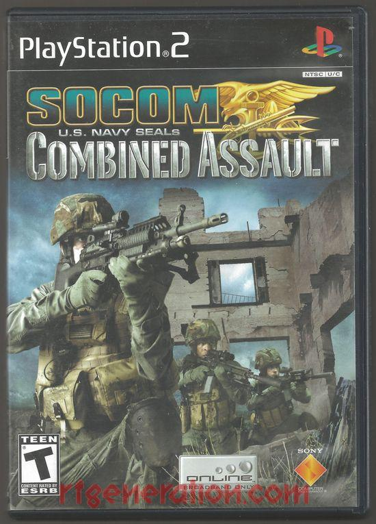 SOCOM U.S. Navy Seals: Combined Assault Box Front