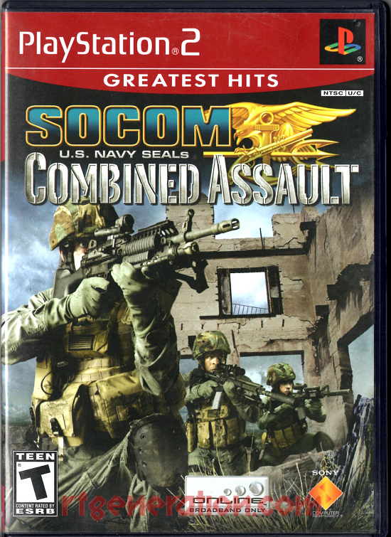 SOCOM U.S. Navy Seals: Combined Assault <sup>[Greatest Hits]</sup> Box Front