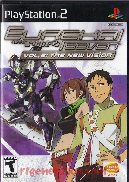 Eureka Seven Vol. 2: The New Vision Box Front