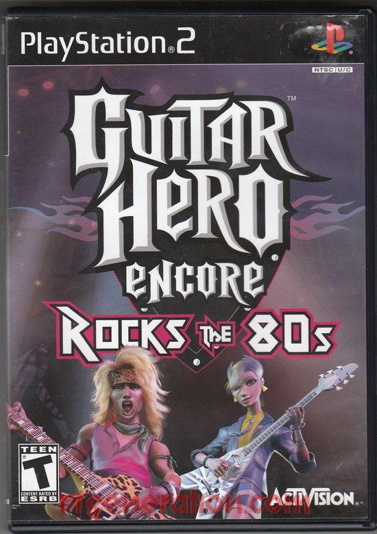 Guitar Hero Encore: Rocks the 80s Box Front