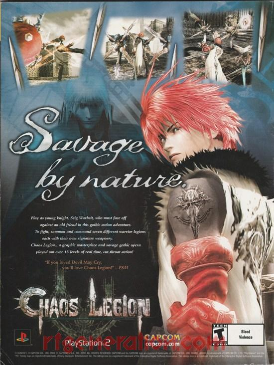 Chaos Legion In-Game Screen