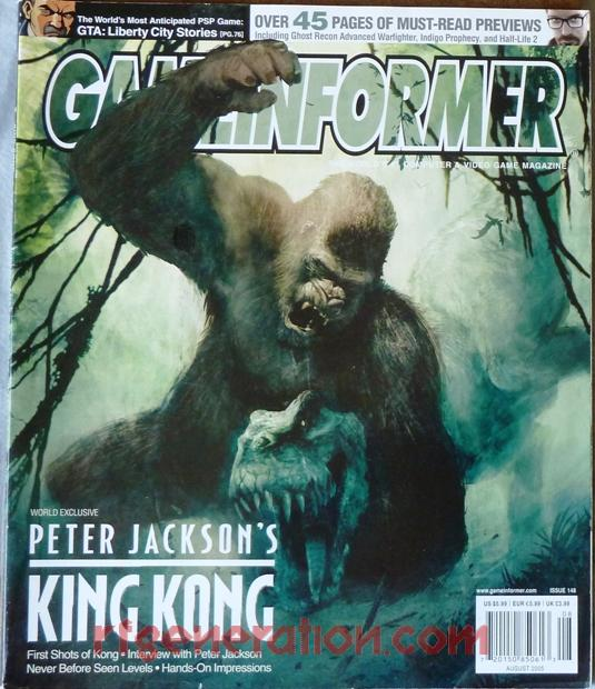 King Kong, Peter Jackson's In-Game Screen