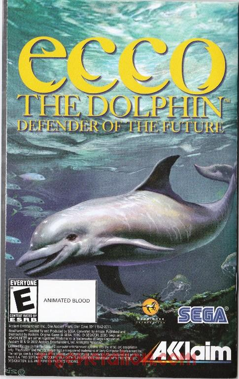 Ecco the Dolphin: Defender of the Future In-Game Screen