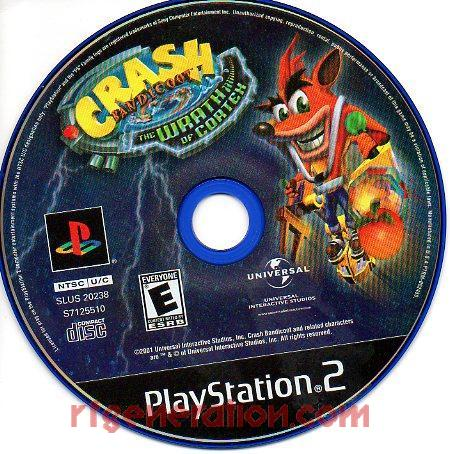 Crash Bandicoot: The Wrath of Cortex Game Scan