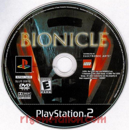 Bionicle Game Scan