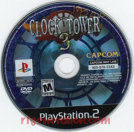Clock Tower 3 Game Scan
