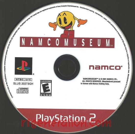 Namco Museum <sup>[Greatest Hits]</sup> Game Scan