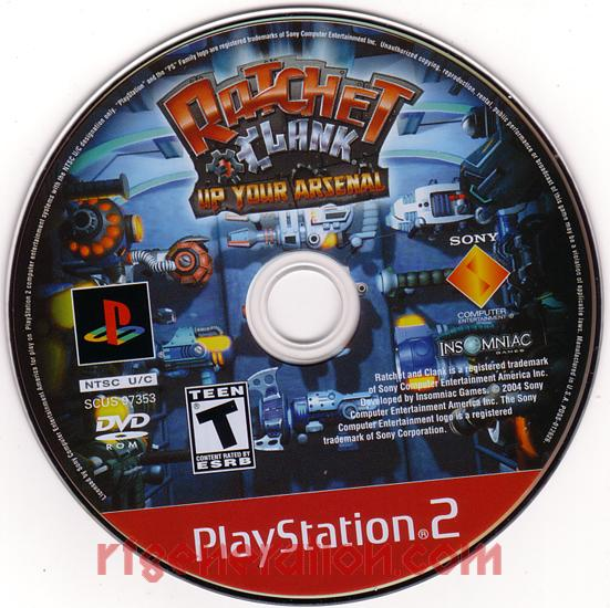 Ratchet & Clank: Up Your Arsenal <sup>[Greatest Hits]</sup> Game Scan