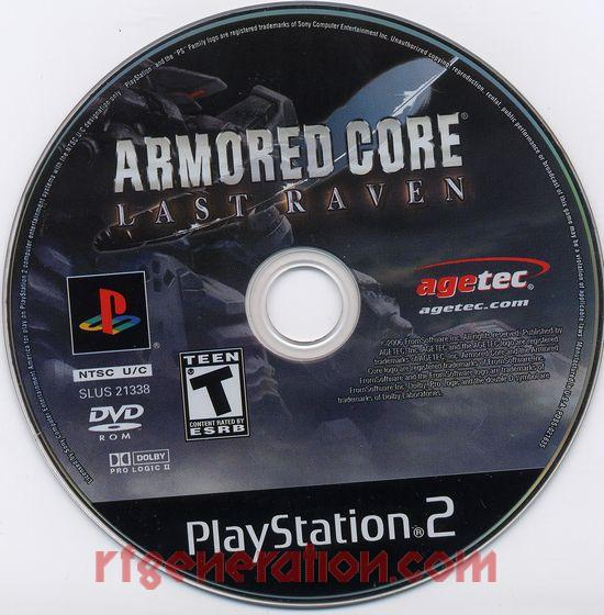 Armored Core: Last Raven Game Scan