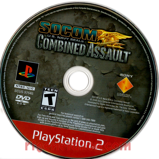 SOCOM U.S. Navy Seals: Combined Assault <sup>[Greatest Hits]</sup> Game Scan