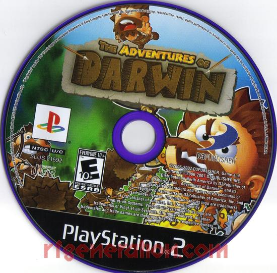 Adventures of Darwin, The Game Scan