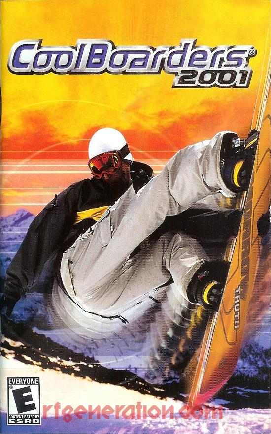 Cool Boarders 2001 Manual Scan