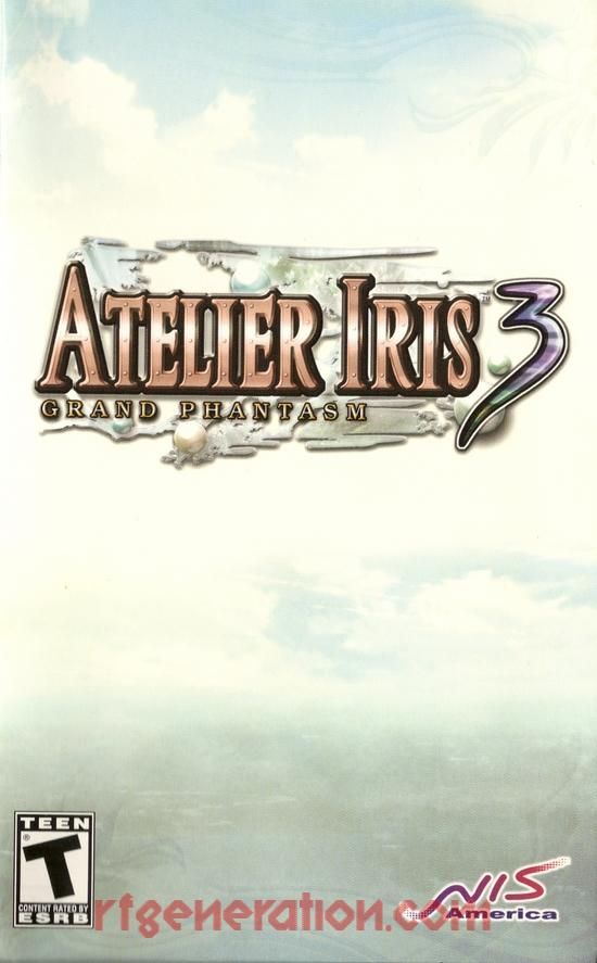 Atelier Iris 3: Grand Phantasm Manual Scan