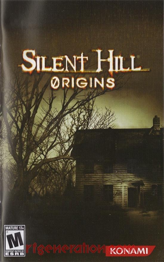 Silent Hill: Origins Manual Scan
