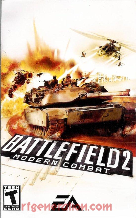 Battlefield 2: Modern Combat Manual Scan