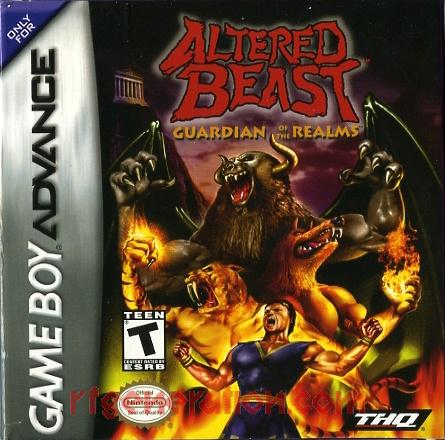 Altered Beast: Guardian of the Realms Box Front