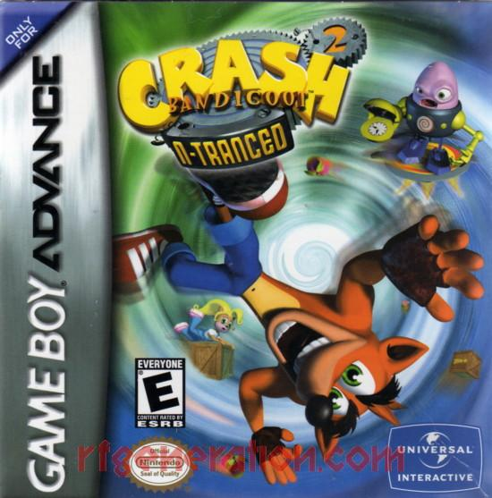 Crash Bandicoot 2: N-Tranced Box Front