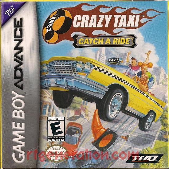 Crazy Taxi: Catch A Ride Box Front