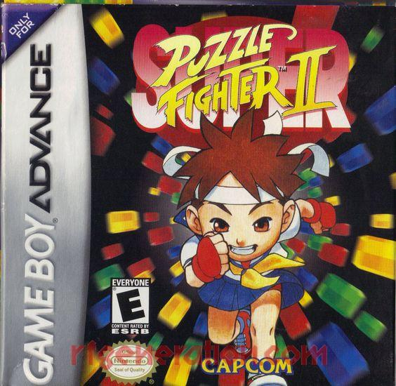 Super Puzzle Fighter II Box Front