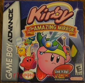 Kirby & The Amazing Mirror Box Front