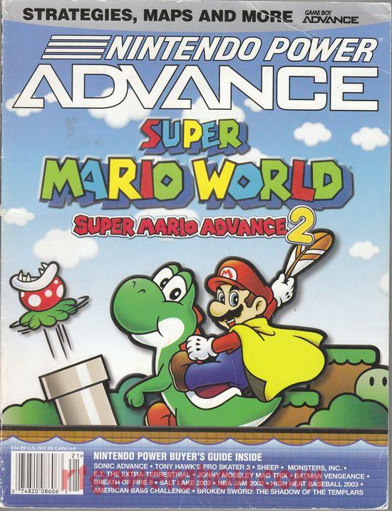 Super Mario World: Super Mario Advance 2 In-Game Screen
