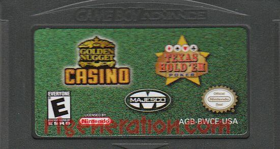 2 Games In 1: Golden Nugget Casino + Texas Hold 'Em Poker Game Scan