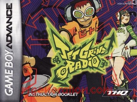Jet Grind Radio Manual Scan