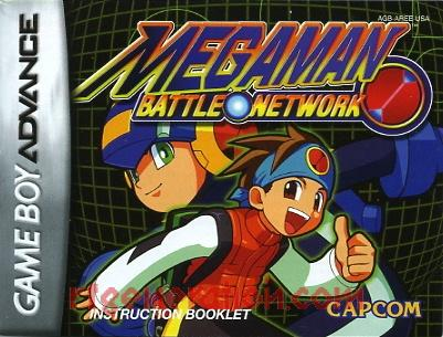 Mega Man Battle Network Manual Scan