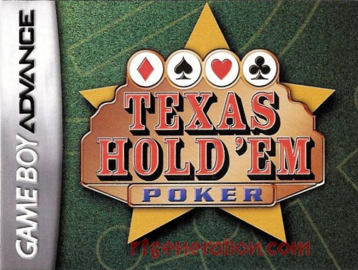 Texas Hold'em Poker Manual Scan