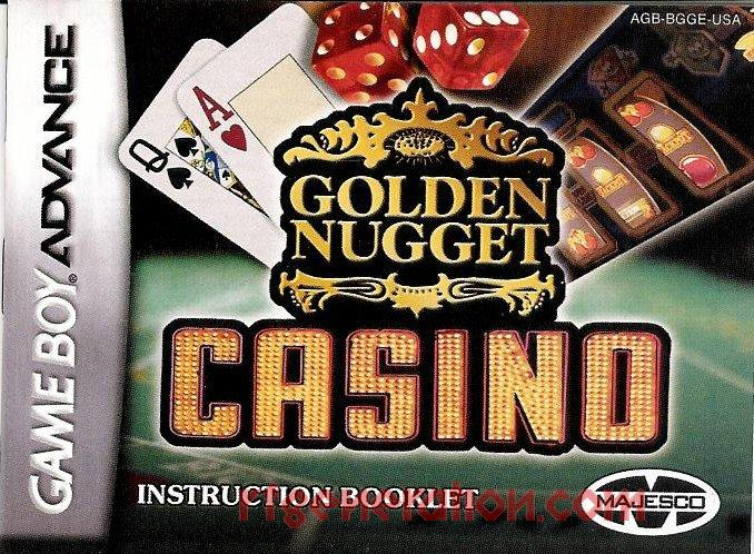 Golden Nugget Casino Manual Scan