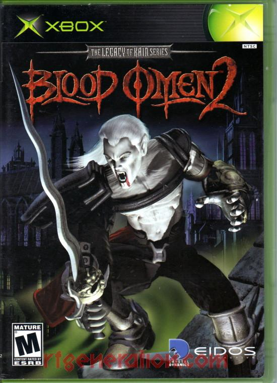 Blood Omen 2 Box Front