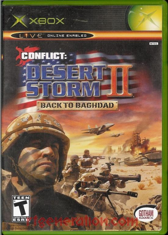 Conflict: Desert Storm II - Back to Baghdad Box Front