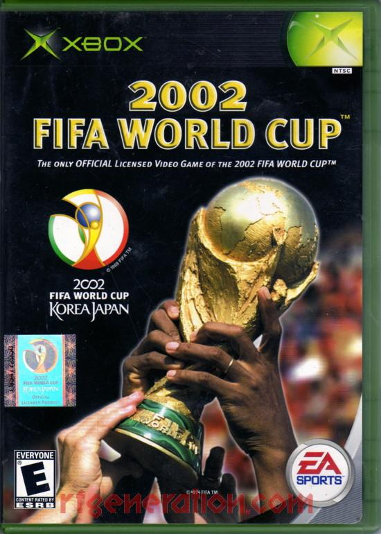 2002 FIFA World Cup Box Front
