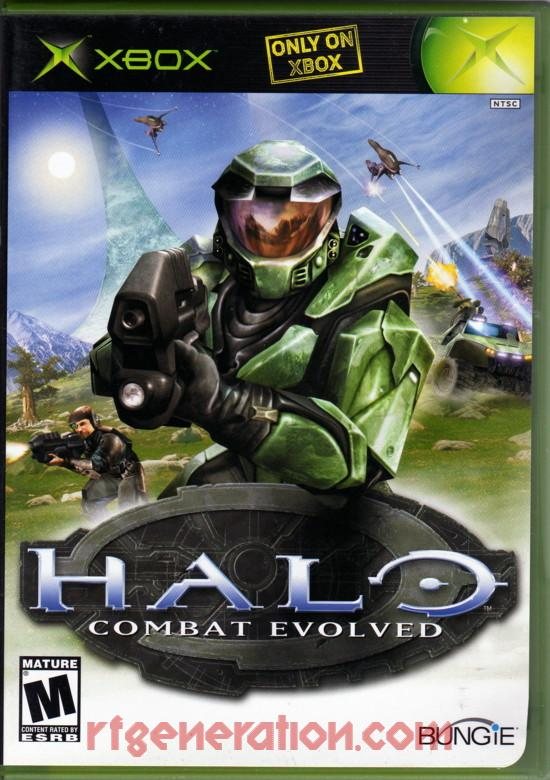 Halo: Combat Evolved Box Front