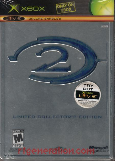 Halo 2 <sup>[Limited Collector's Edition]</sup> Box Front