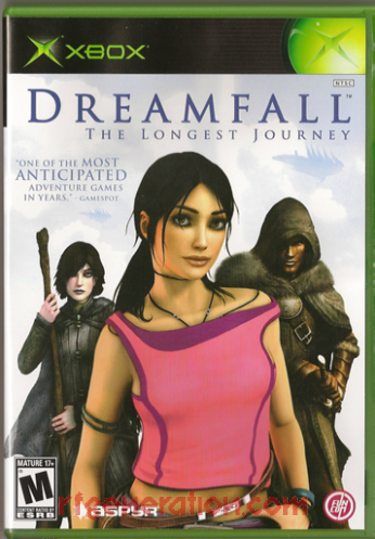 Dreamfall: The Longest Journey Box Front