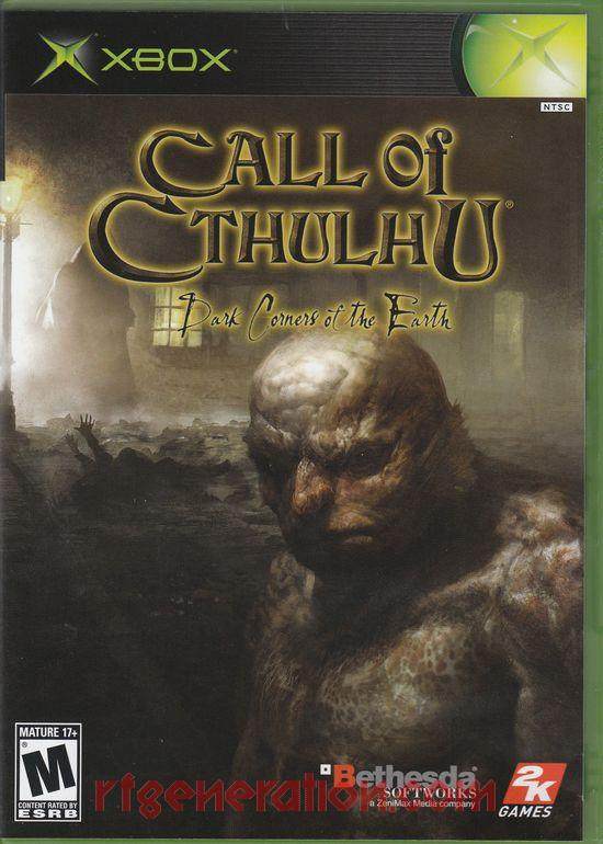 Call of Cthulhu: Dark Corners of the Earth Box Front