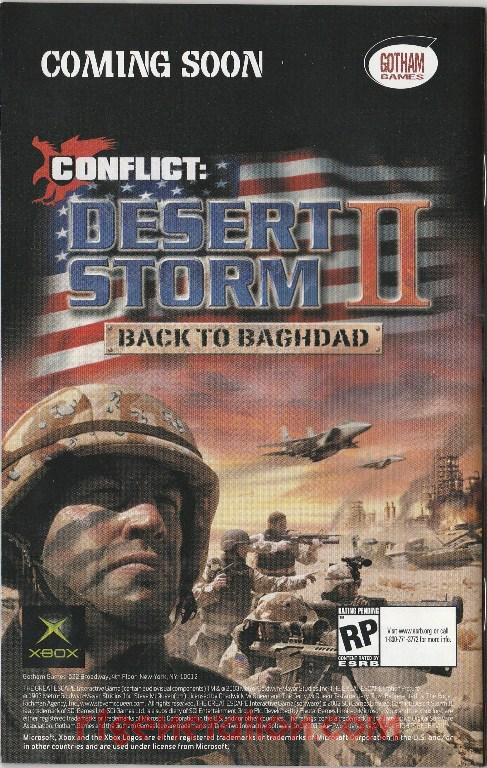 Conflict: Desert Storm II - Back to Baghdad In-Game Screen