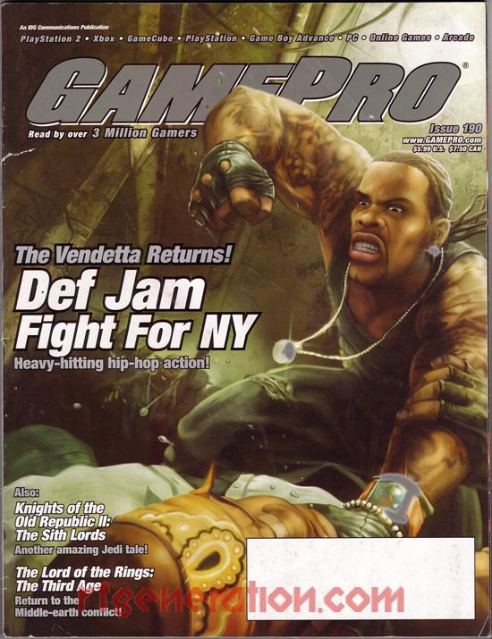 Def Jam: Fight for NY In-Game Screen