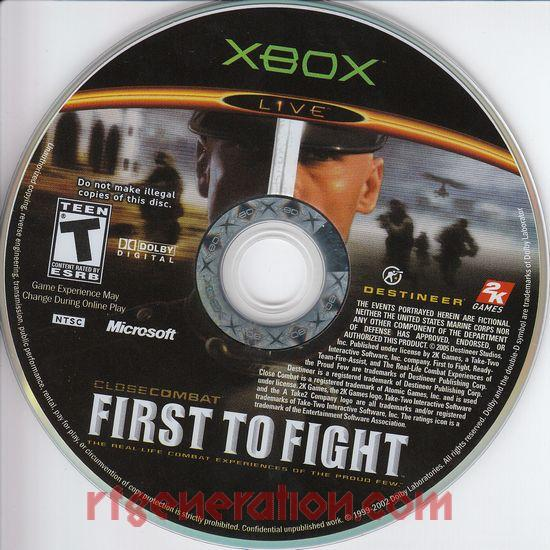 Close Combat: First to Fight Game Scan