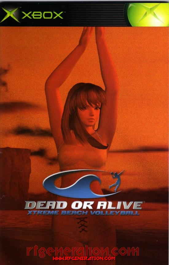 Dead or Alive Xtreme Beach Volleyball Manual Scan